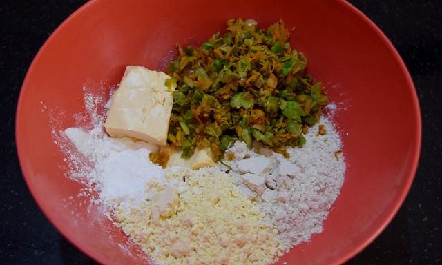 Carrot Cookies Flour for dough
