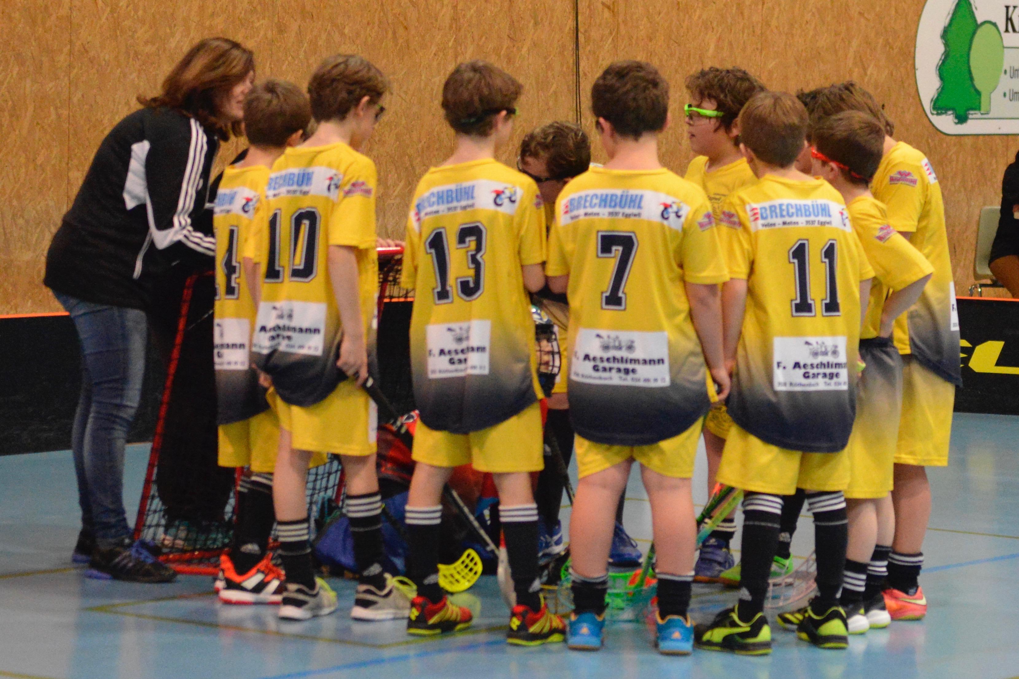 Junioren D - UHC Burgdorf Saison 2017/18