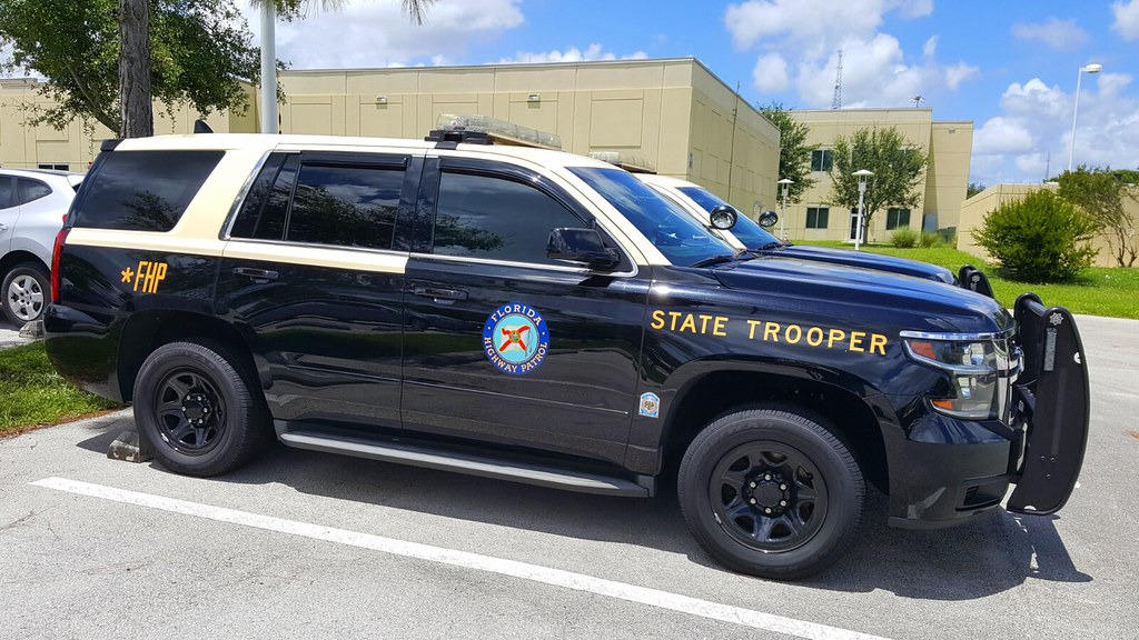 Florida Highway Patrol (FHP) 2016 Chevy Tahoe - Commercial