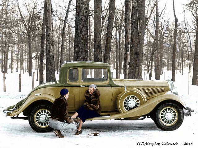 1933 Studebaker Presidents Coupe
