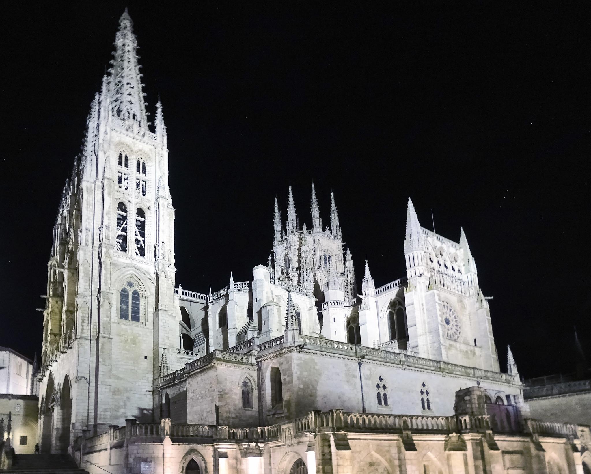 Fachada sur exterior Catedral de Burgos