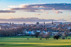 Oxford from South Parks at sunset 18-1-18. by Anthony P Morris
