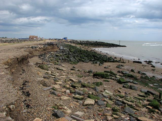 The beach at Seawick