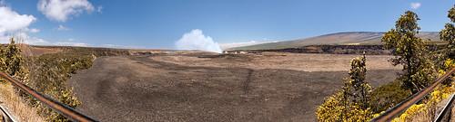 bigisland hawaiivolcanonationalpark kilauea caldera geothermal landscapephotography nationalpark naturephotography panorama park volcano wideangle hawaiibigisland unitedstates