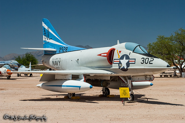 142928 USN   Douglas A4D-2N Skyhawk   Pima Air & Space Museum