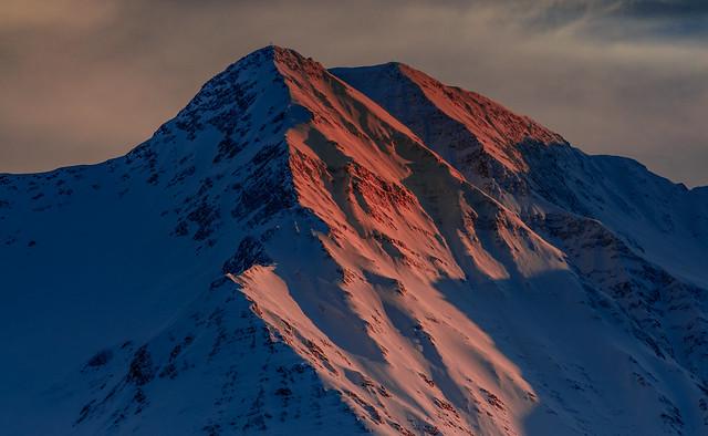 Bettlihorn on Alpenglow