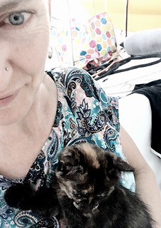 Mother of a 10-year-old. And her kitten. | by miaow