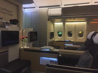 Lufthansa Flight Luanda Frankfurt, First Class https://www.lufthansa.com/de/de/Lufthansa-First-Class | by jens kuhfs