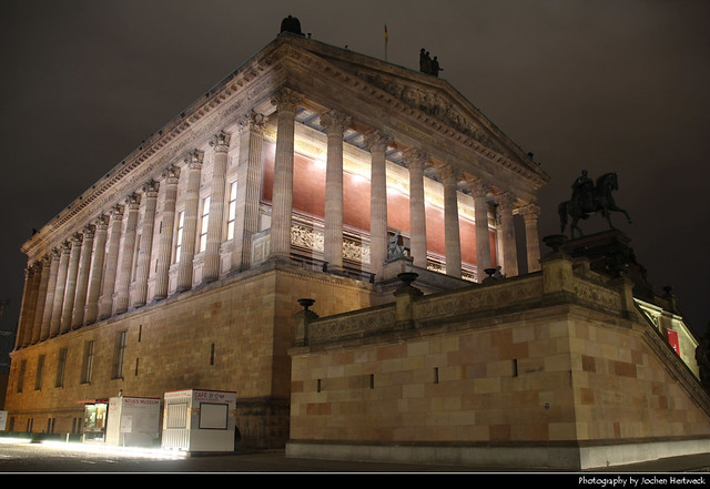 Alte Nationalgalerie at Night, Berlin, Germany
