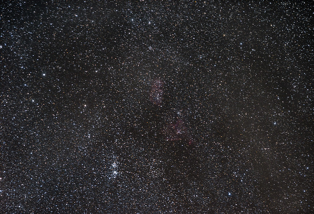 NGC 869-NGC 884  Double Cluster- Perseo