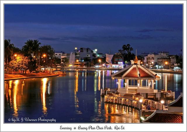 Evening @ Bueng Plan Chai Park, Roi Et  10
