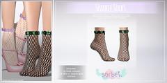 Sorbet. Sparkle Socks