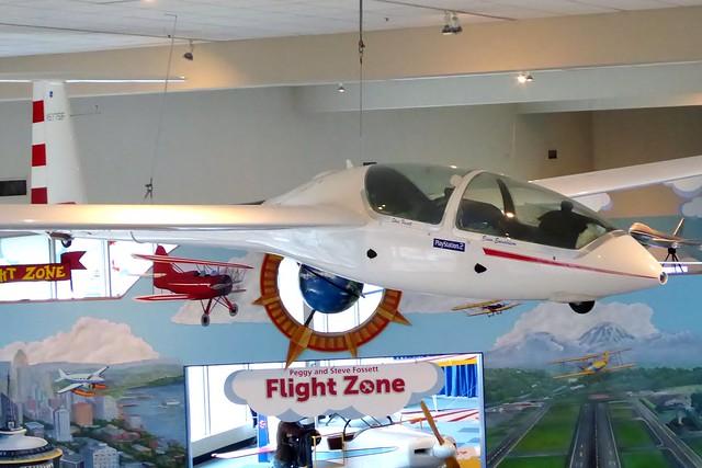 N577SF The Museum of Flight Boeing Field 7 November 2017