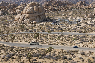 The Roadrunner Shuttle Bus Heading from Barker Dam to Intersection Rock | by Joshua Tree National Park