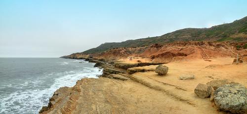 jeff® j3ffr3y california sandiego cabrillo ocean pacific westcoast sand rocks shoreline beach water explore4 leadinglines unitedstates sony sigma alpha america