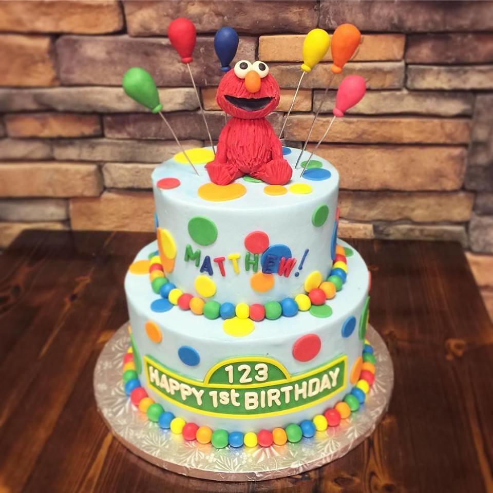 Sesame Street Birthday Cake.Elmo First Birthday Cake Get This Beautiful Sesame Street
