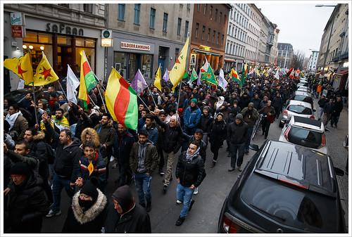 Defend Afrin @ Berlin   by Libertinus