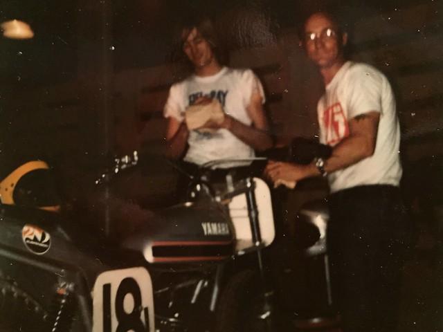 Earl Wills & Fred Smith - Yamaha Flat Track Bike
