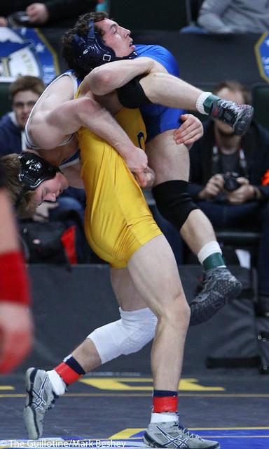 145A 5th Place Match - Lukas Meier (Crookston) 36-9 won by decision over Jack Ridgway (Trinity School At River Ridge) 30-9 (Dec 5-3) - 180303bmk0080