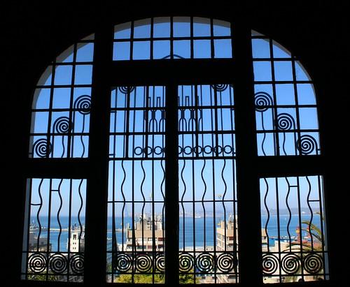 picmonkey artnouveau modernismo jungestill secession libertystyle view valparaiso chile palaciobaburizza suramérica sky ocean pacífico pacific south window