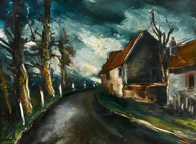 Maurice de Vlaminck - The Road to Longny