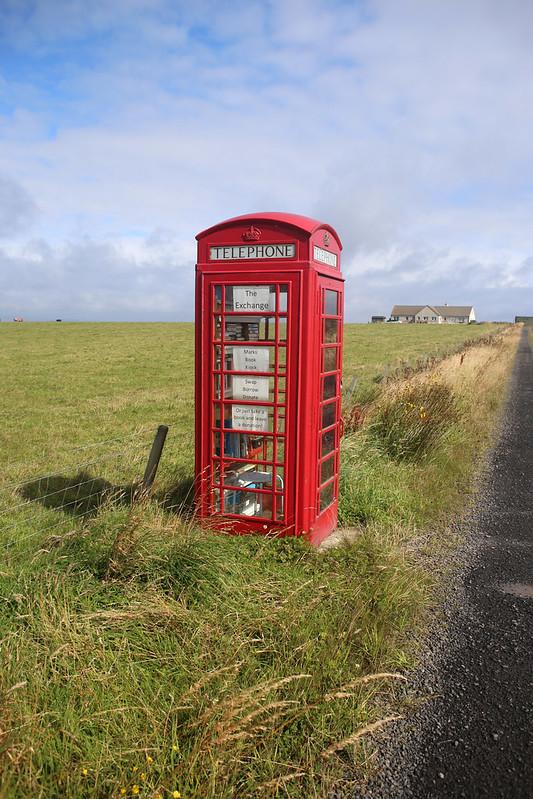 Telephone box library