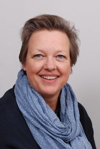Juffrouw Ingrid, staf administratie