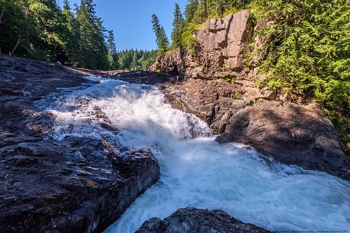 canada falls waterfall xt2 water rocks learnfromexif july landscape provia fujifilmxt2 mikofox showyourexif xf1024mmf4rois river campbellriver elkfalls