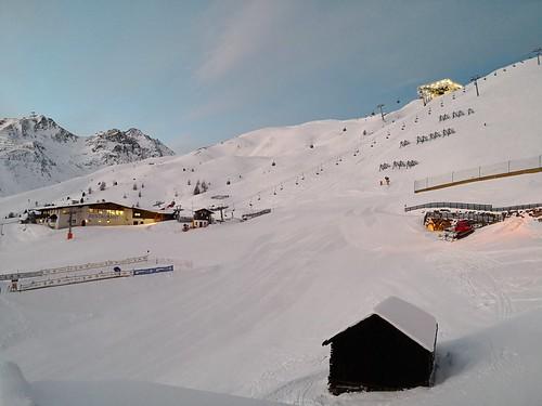 瑟尔登 sölden austria 奥地利 hochsölden skihotel hotel 酒店 edelweiss sunrise balcony view 日出