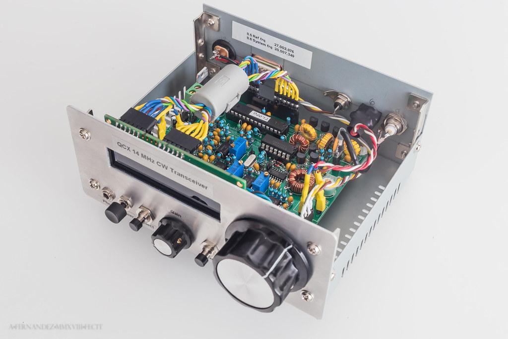 QRP Labs QCX 14 MHz Transceiver | Antonio Fernandez | Flickr