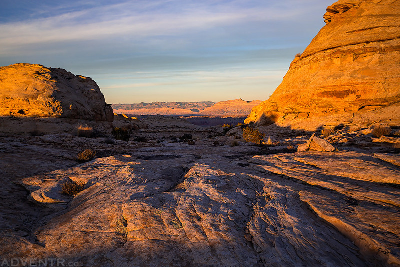 San Rafael Reef Sunset