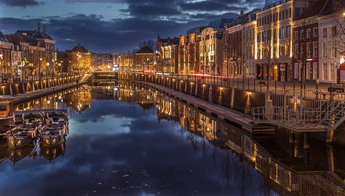 Breda - haven in de avond