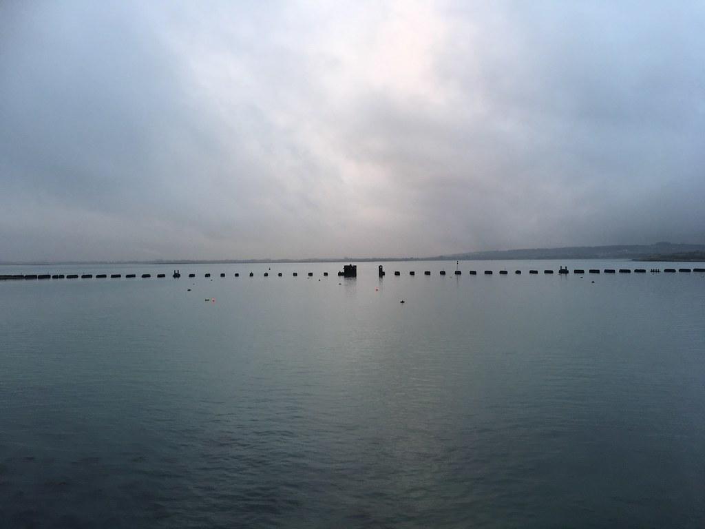 The old rail bridge, Hayling islands Portsmouth to Hayling Island walk