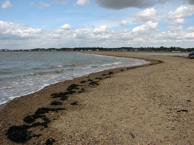 The beach at Point Clear