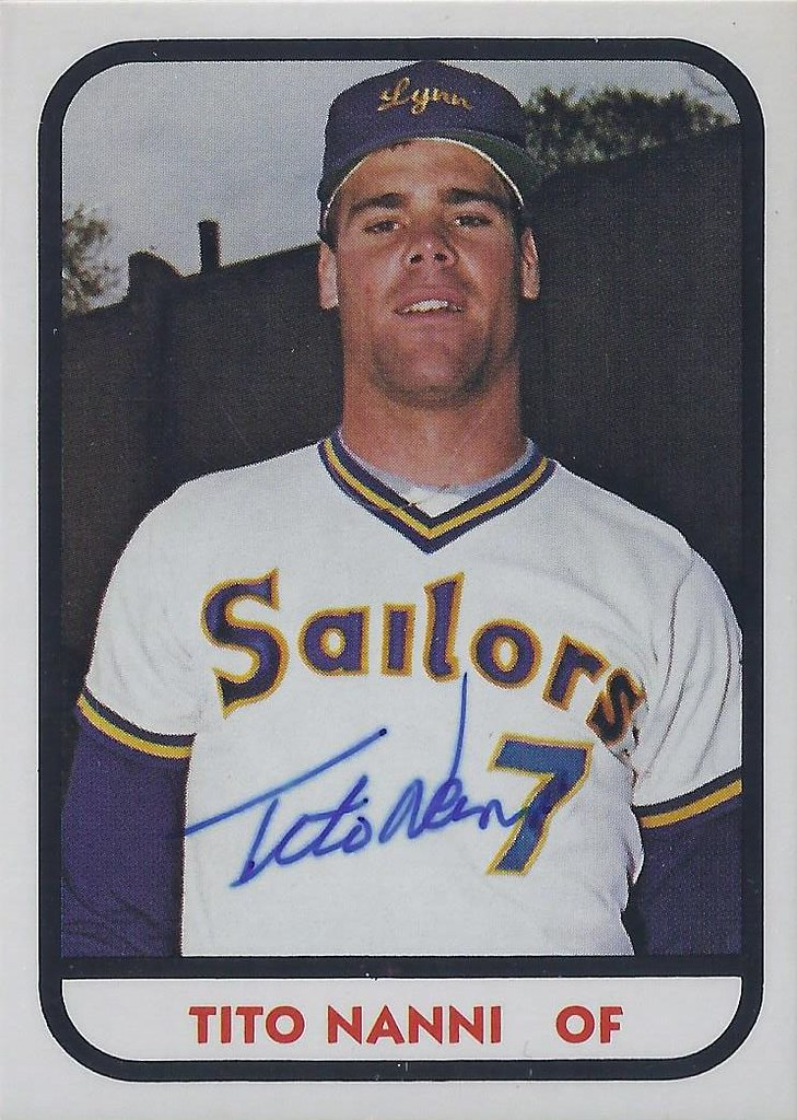 1981 Tcma Tito Nanni 23 517 Outfielder Autograph Flickr