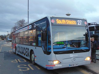 5307 Go North East Mercedez Benz Citaro on Crusader Service 27 | by Snakebite90