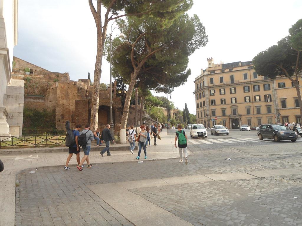 INSULA DELL' ARA COELI & Monumento Nazionale a Vittorio Emanuele II & Via del Teatro di Marcello, Capitolio, Roma, Italia/Campidoglio, Rome, Italy - www.meEncantaViajar.com