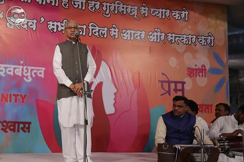 SNM Zonal Incharge Kanhiya Lal from Aurangabad, expresses his views
