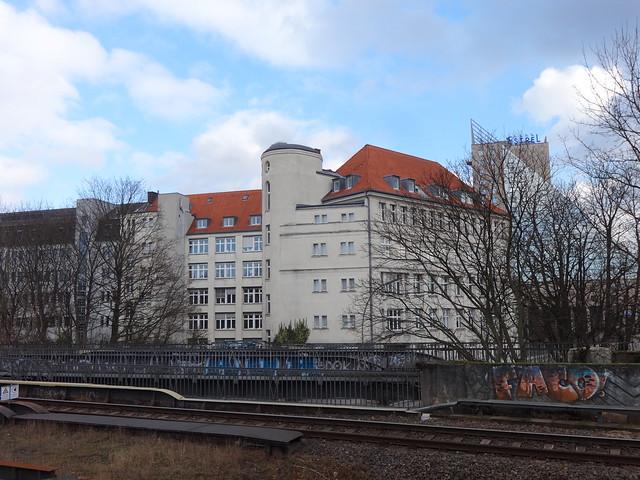 1916 Berlin Finanzamt Neukölln-Nord in sachlichem Klassizismus von Otto Rehning Sonnenallee 223 in 12059 Neukölln