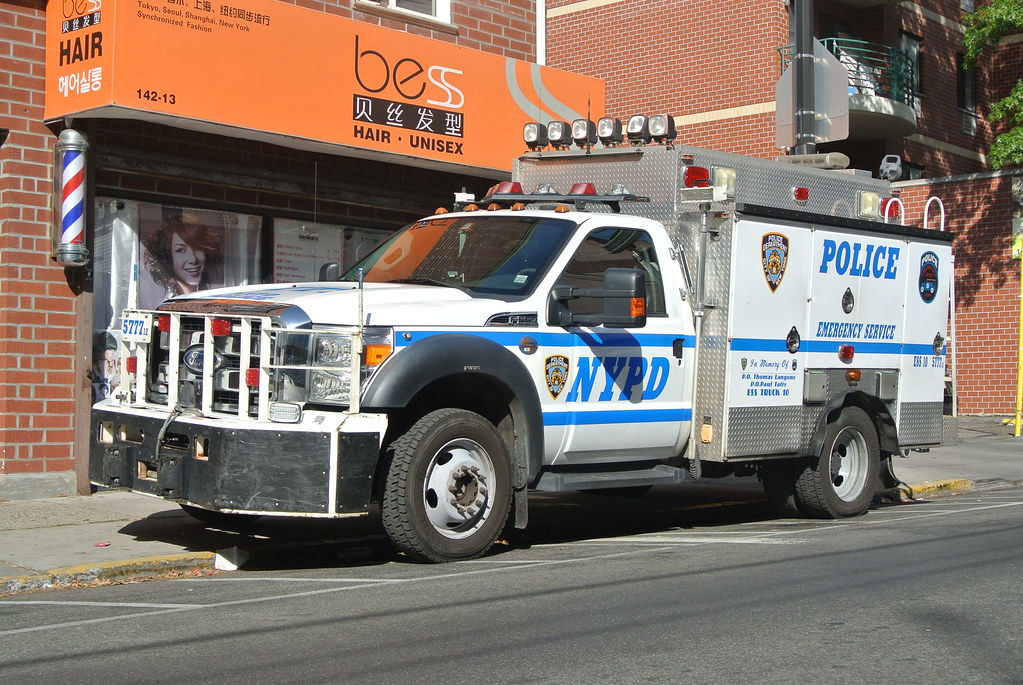 NYPD ESS Truck 10