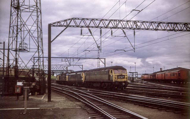 Under the catenary at Crewe