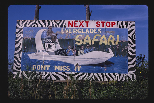 Everglades Safari billboard, Route 41, Dade County, Florida (LOC) | by The Library of Congress