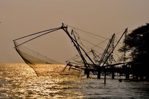 inde india kerala കേരളം cochin kochi കൊച്ചി coucherdesoleil sunset filets carrelets merarabique dominiquecaron merdarabie