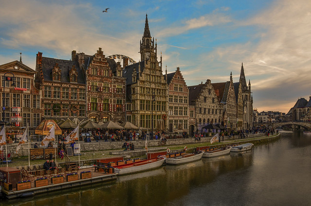 Boattrips in the city of Ghent.