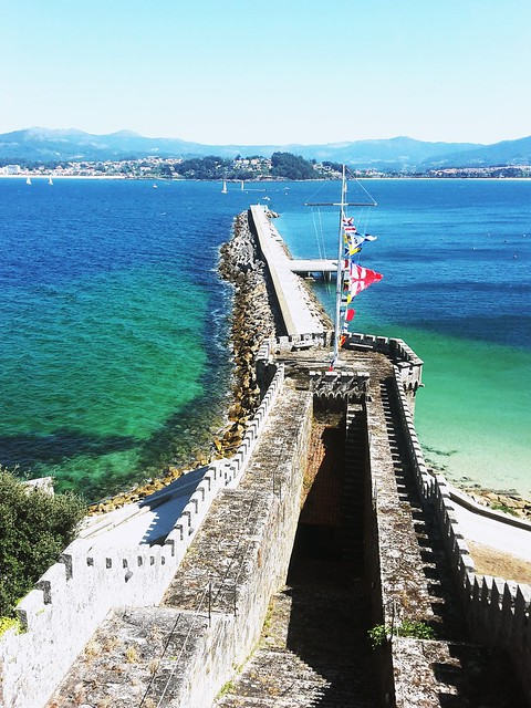 Fortress by the Sea @Baiona, Spain