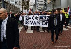 PVV demonstratie