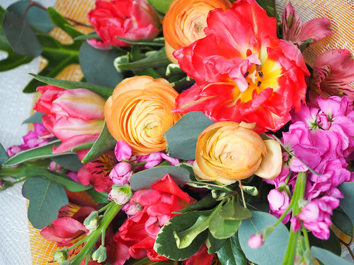 Valentine's Day Flowers - Photo courtesy Lynne Tischler, AAF, CPFD, PFCI, with Jessie Thompson of Your Enchanted Florist in St. Paul, Minnesota.yourenchantedflorist.net | by Flower Factor