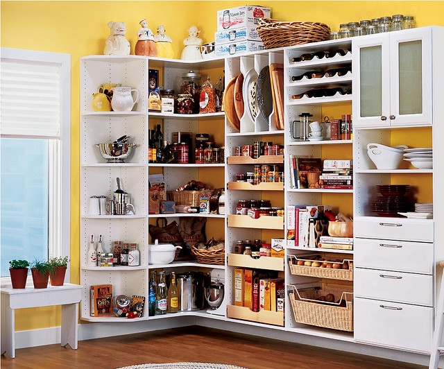 Kitchen Pantry, Smart Solution for Minimum Space