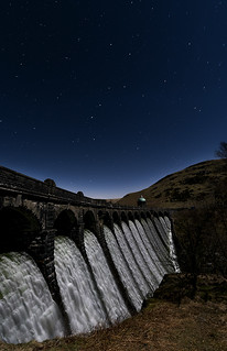 Craig Coch by moonlight vertical