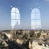 Rad Cam reflected in the windows of the Sheldonian by breakbeat
